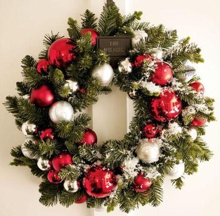 Різдвяний вінок 17