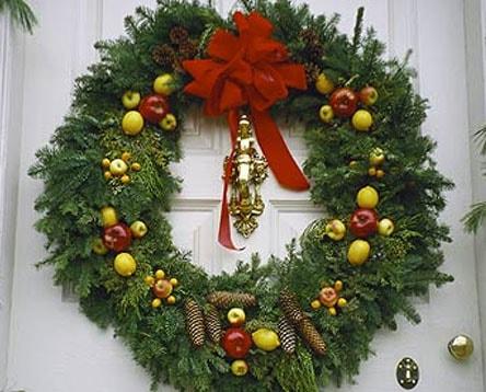 Різдвяний вінок 24